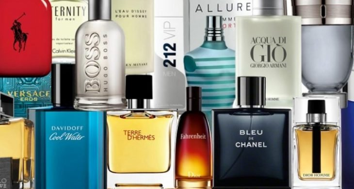 Botellas de perfume