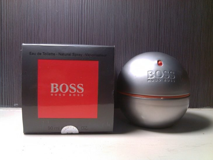 In motion (Hugo Boss)