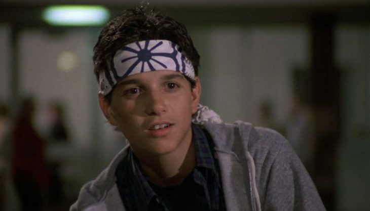 Ralph Macchio en Karate Kid