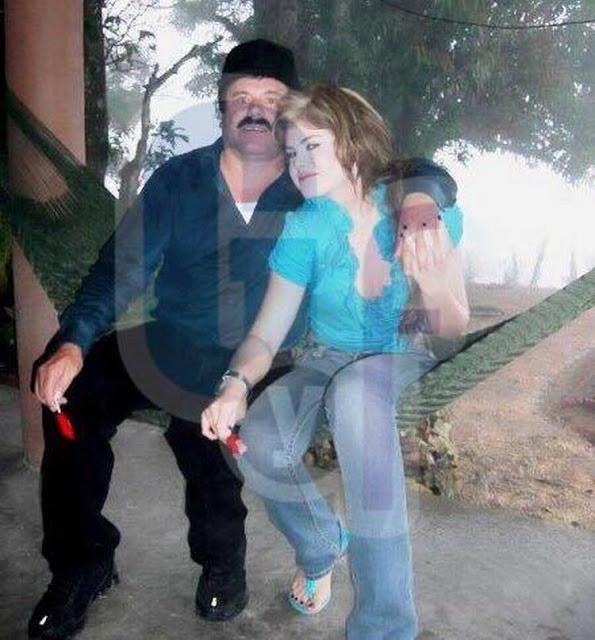 el chapo y su novia