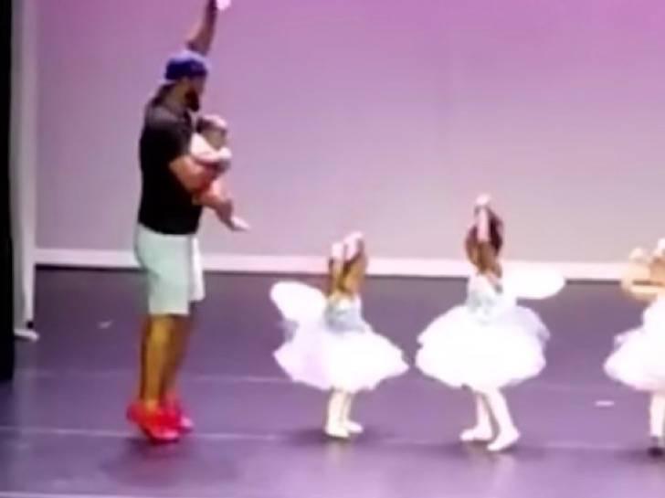 Padre bailando ballet