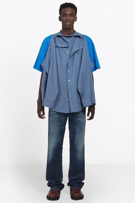 hombre vistiendo camisacamiseta
