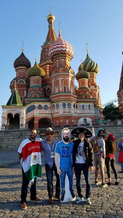 Javi en Rusia