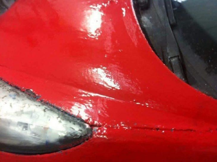 Fail carro pintura