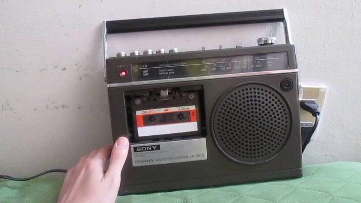 usando radio