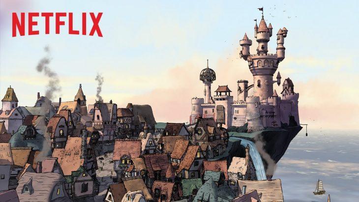 castillo de serie Desencanto