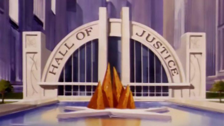 El salón de la justicia