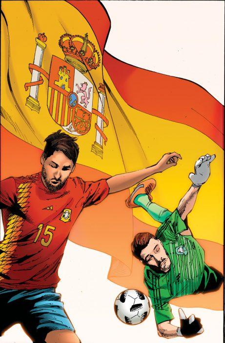 España en cómic de Marvel