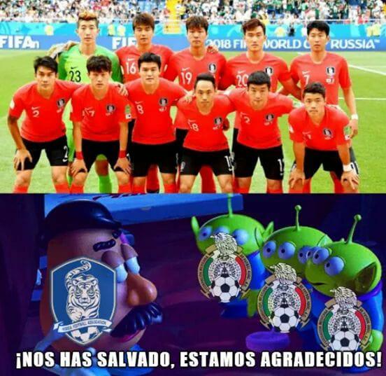 Memes México y Corea