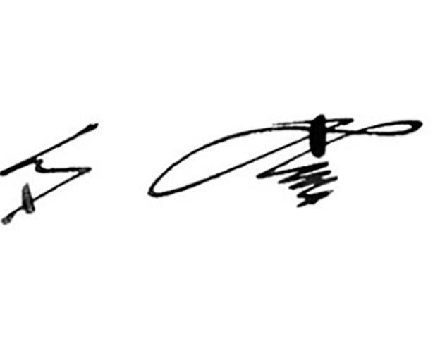 Firmas de famosos