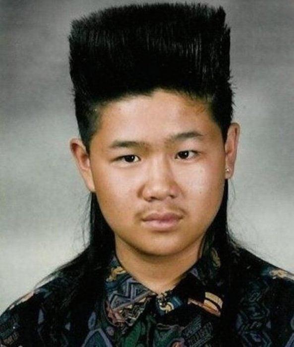 corte de cabello antes