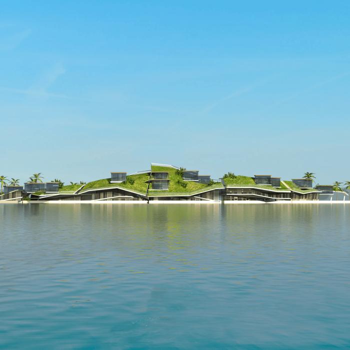 isla flotante