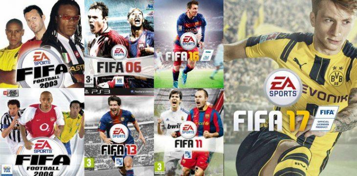 Portadas de FIFA