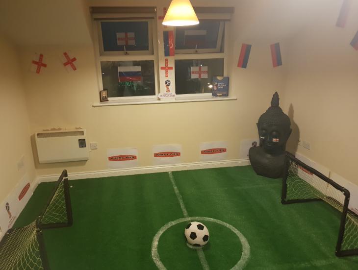 Campo de futbol en sala