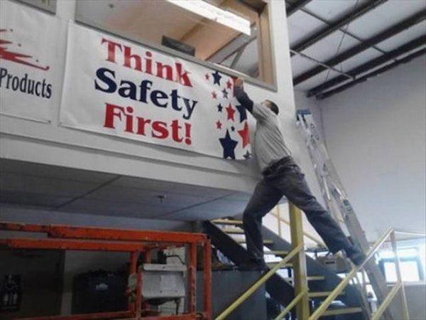 La seguridad es primero