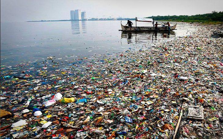 Contaminación en el mar