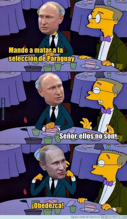 Memes de Rusia 2018