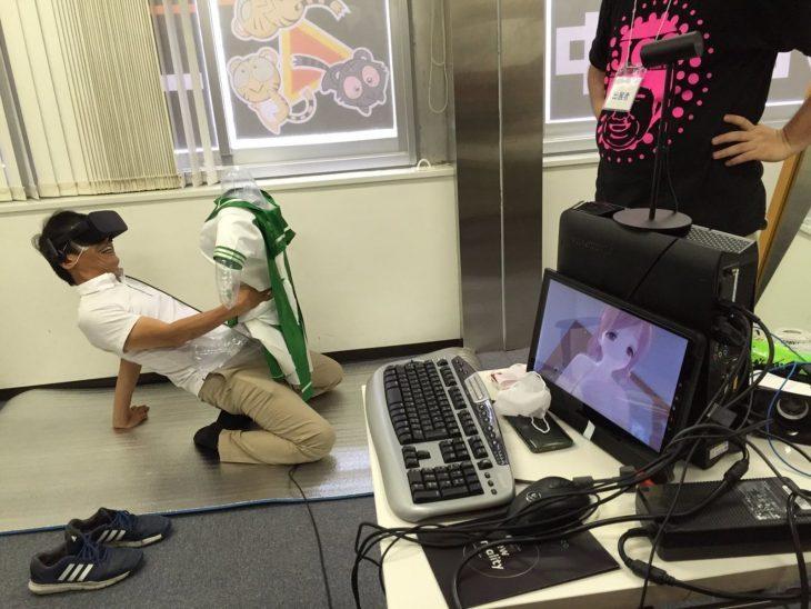 japoneses con robots