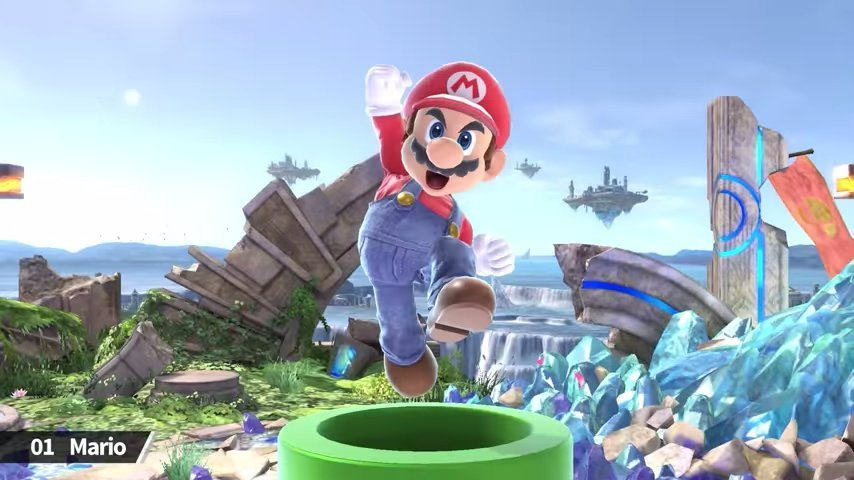 Retas de super smash bros ultimate en linea combate 1 - 5 8