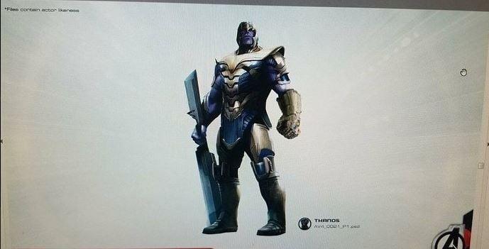 12 1 Filtran por error el nombre oficial de 'Avengers 4' y los diseños de los siguientes personajes