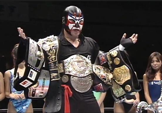 Campeón de lucha libre