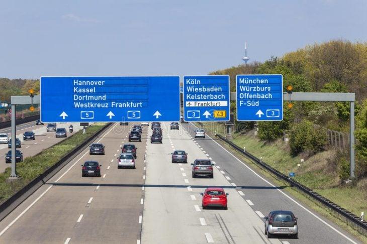 Carretera en Alemania
