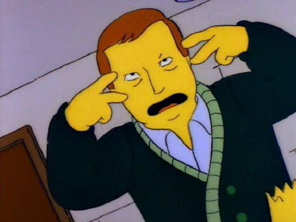 adam west en los simpson