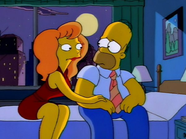 michelle pfieffer en los simpson