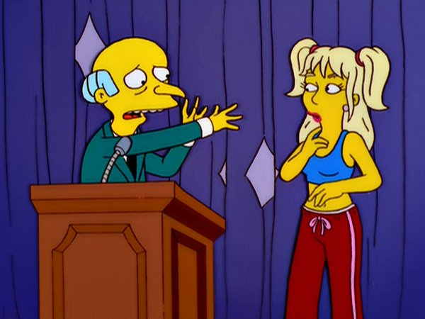 britney spears en los simpson
