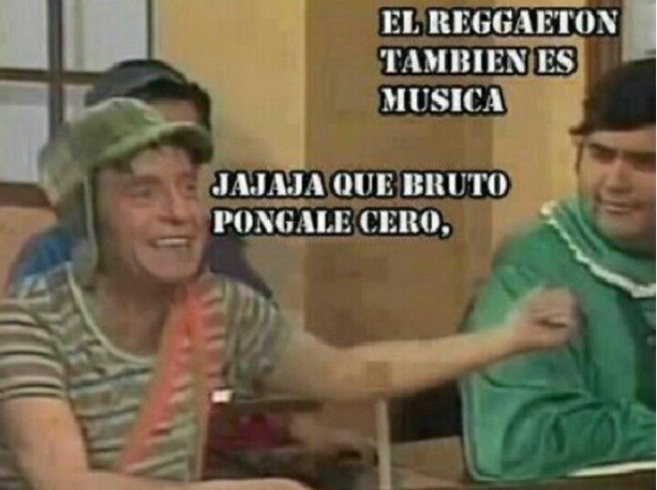 Memes anti reguetón