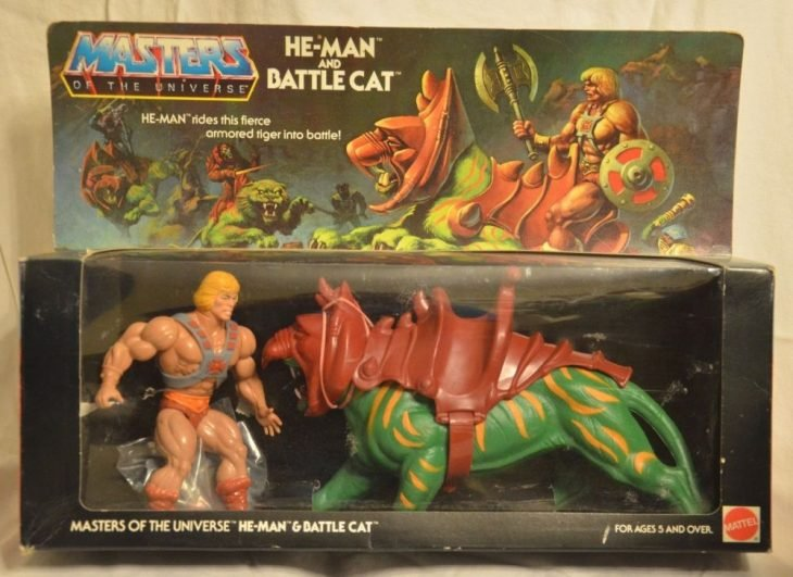 He Man y Battele Cat