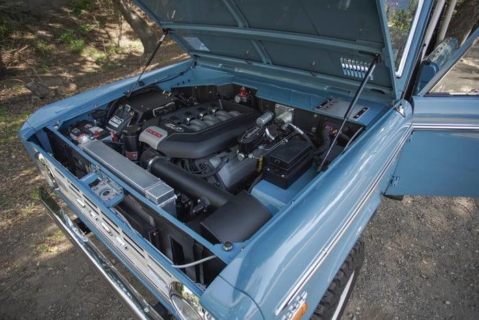 Motor de Ford Mustang en Bronco