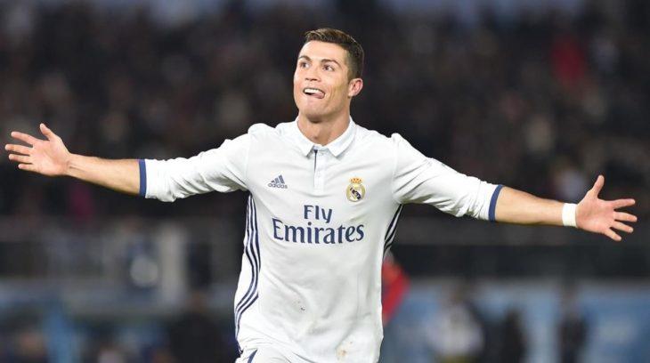 CR7 con el Real Madrid