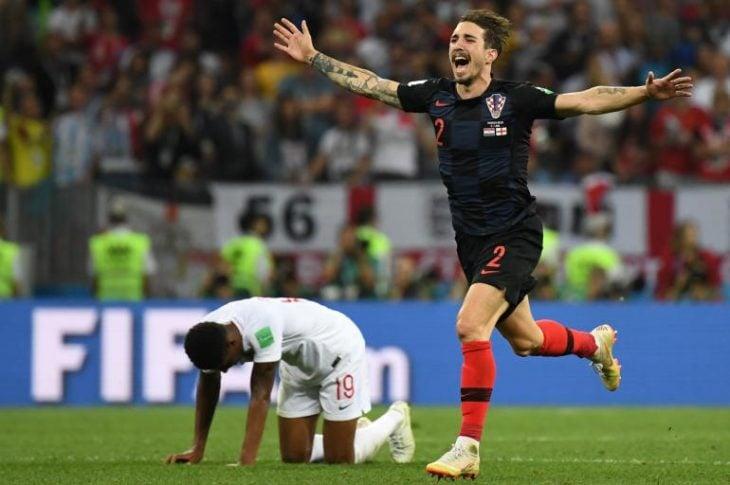 Croacia vs Inglaterra en Rusia 2018