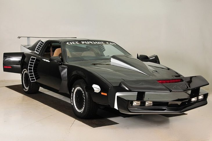 Super Pursuit Mode KITT