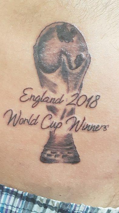 Tatuaje de Inglaterra