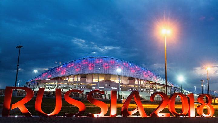 Estadio en Rusia