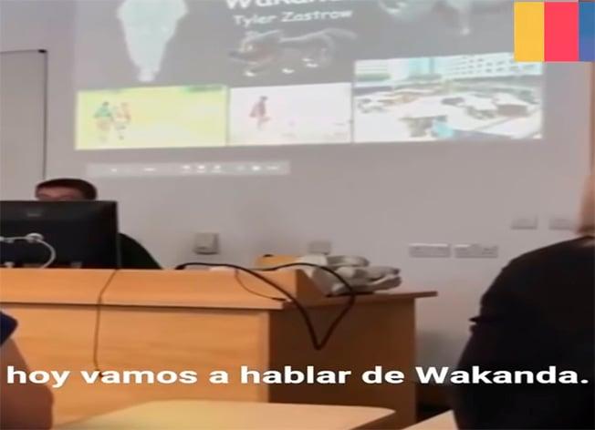 Exposición sobre Wakanda