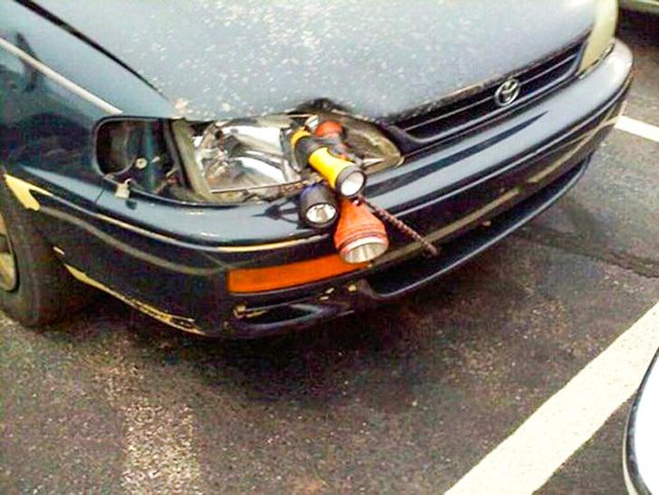 Genios luces de auto