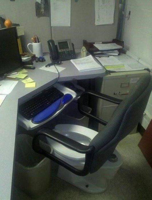 Inventos asiento inodoro