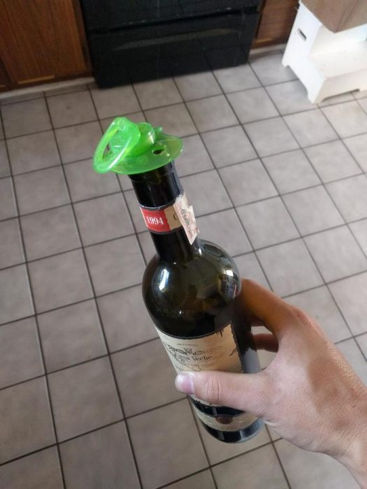 Inventos biberon botella