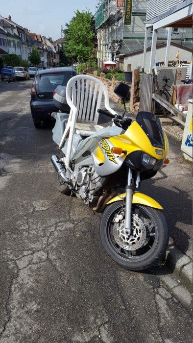 Inventos silla de moto