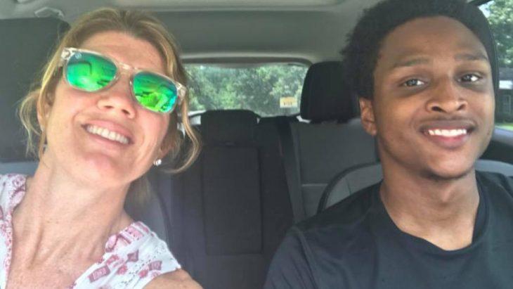 Selfie en coche