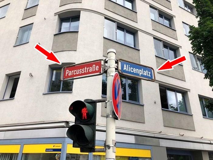 Calles en Alemania