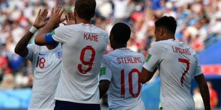 Inglaterra en Rusia 2018