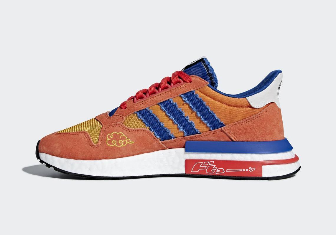 Zapatos Adidas inspirados en Dragon Ball Z | Zapatos adidas