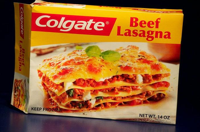 Lasagna Colgate