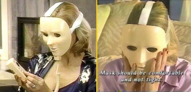máscara de juventud