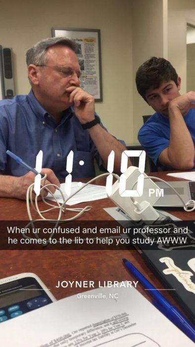 Profesores más divertidos biblioteca