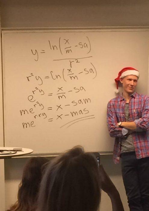 Profesores más divertidos navidad